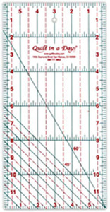 """6""""X24""""    -QUILT IN A DAY RULER"""