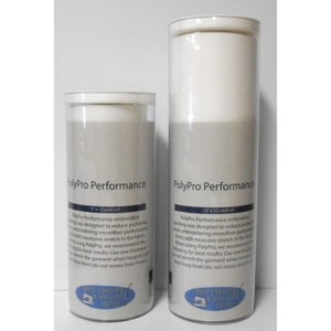 "Exquisite H250910K Poly Pro Performance Embroidery Stabilizer Backing 9"" x 10 Yard Roll in a Tube"