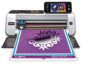 "65164: Brother CM650W Demo 12x24"" ScanNCut2 Digital Cutter, 5""LCD Panel*"