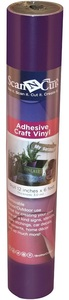 "Brother CAVINYLPM 6 FT x12"" Roll Plum Adhesive Craft Vinyl for ScanNCut Cutters , CM650W, CM350R, CM550, CM250, CM100"