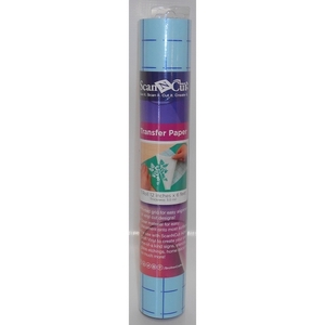"63463: Brother CAVINYLTPG Roll 6x12"" Roll Clear Adhesive Transfer Paper with Grid for ScanNCut Cutters"