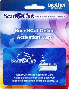 63468: Brother CAWLCARD1 Wireless Online Activation Card