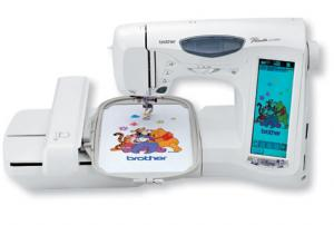 "Brother ULT2003D Trade In 107 Stitch Sewing 6x10"" Embroidery Machine, 163 Disney Designs, Card & Disk Drives, 11 Fonts, 4 Hoops, Edit, Custom Stitch"