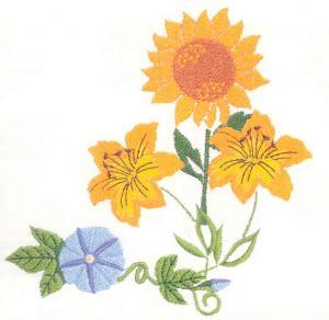 Bernina Deco 107 Studio Collection Embroidery Card