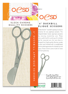 "63933: OESD 712, 6"" Duck Bill Pelican Applique Scissors"