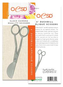 """OESD 6"""" Duck Bill Applique Scissors"""