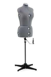 """Singer DF251 13 Key Adjustable Medium Large Dress Form Blue, 39-47"""" Bust , 31-39 Waist, 41 49"""" Hips, 14-16 Neck/Back, Hem Marker, Pin Cushion"""