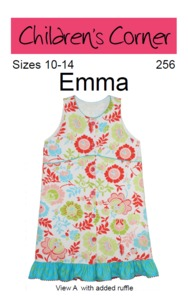 Children's Corner CC256 Emma Sewing Pattern Size 10-14