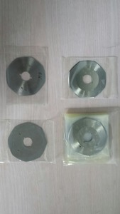 """64352: Gemsy B21 Qty 4 Replacement 3"""" Rotary Blades for Lejiang YJ-70A Cutter"""