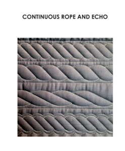 Sew Steady Westalee RopeEcho Continuous Rope and Echo Template Ruler Size Options from .75 to 5.5""