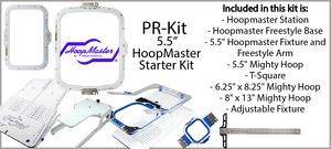 Hooping Stations for Garments, Tools and Software for