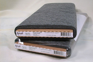 """Bosal 313 - NonWoven Featherweight Fusible Interfacing in Charcoal - 20""""X40yd Bolt"""