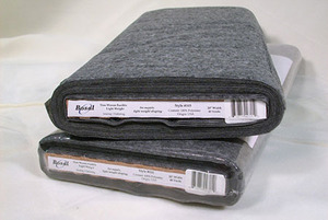 "Bosal 315 - NonWoven Lightweight Fusible Interfacing in Charcoal - 20""X40yd Bolt"