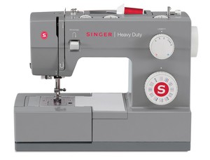 Singer, 4432, Heavy, Duty, HD, Stainless, Steel, Stronger, Motor, High, Speed, 1,100, stitch, minute, free, arm