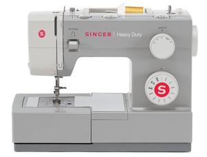 Singer HD4411.C Heavy Duty 11 Stitch Commercial Grade Mechanical Sewing Machine, Buttonhole, Stainless Steel Bedplate, 60% Stronger Motor, 1,100SPM