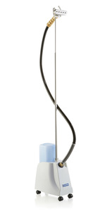 Reliable VIVIO 150GC Garment Steamer, Metal Head, Wood Handle, Fabric Upholstery, Commercial Grade (Replaces G4M)