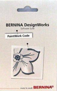 Bernina 034229.71.00 Code Card, PaintWork DesignWorks software