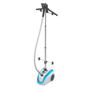 Steamfast SF-560 Deluxe Upright Fabric Garment Drapery Upholstery Steamer, Removable Water Reservoir, Foot Operated Power Switch