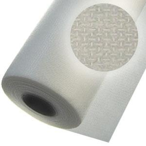 """Floriani FMFWH1510 No Show White Fusible Nylon Mesh Embroidery Stabilizer 1.5oz 15"""" Inch x 10 Yards Roll"""