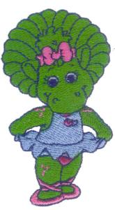 6769: Amazing Designs BMC BAR2 Barney Collection II Baby Bop & BJ Brother Embroidery Card