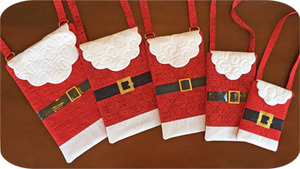 65246: Embroidery Garden 48 - SNTBG Santa Bags Embroidery Designs on CD Now with Hardware