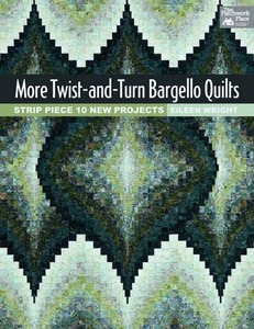 Martingale B1179 More Twist and Turn Bargello Quilts Book by Eileen Writht, Patchwork Place