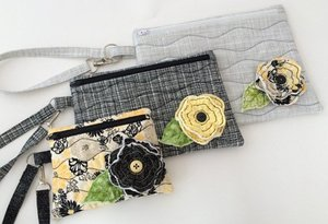 Embroidery, Garden, In, the, Hoop, Wristlet, Set