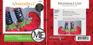 Kimberbell KD602 Me Time CD: Sweet Feet: Santa's Elf Embroidery Designs