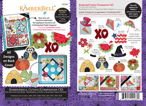 Kimberbell KD508 Cuties Home Projects Companion CD 12 Designs
