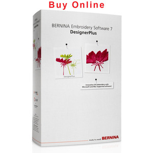 Bernina 033881.71.00 Designer Plus 7 Embroidery Digitizing Software