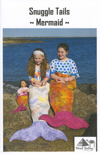 Wendt Quilting DW308 Snuggle Tails - Mermaid pattern