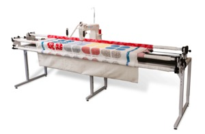 "86825: Grace 8' Continuum Quilting Frame +Qnique 14+15R 15x8"" Arm Longarm Machine"