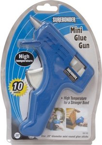 Sure Bonder GM-160 High Temperature Mini Glue Gun, 10 Watt, Blue