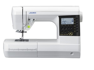 "Juki HZLG120 180 Stitch Sewing Quilting Machine LED, 8""Arm, Font, 8x1-Step BH's, Start/Stop, Neele Up/Down, Auto Threader, Box/Drop Feed, 6 Feet, 6Mo*"