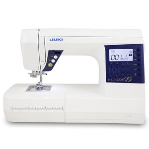 Juki HZL-G220 Computerized Sewing Machine, Box, Feed, Industrial, buttonhole, auto, needle, threader, lcd, display