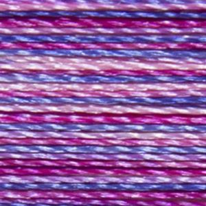 Isacord Variegated Multicolor Embroidery Thread 9973 Summer Peonies  2579-9973 Polyester 1000m Spool