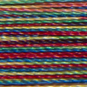 Isacord Variegated Multicolor Embroidery Thread 9937 Carnival  2579-9937 Polyester 1000m Spool
