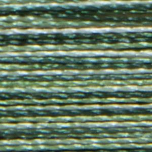 Isacord Variegated Multicolor Embroidery Thread 9805 Shades of Grass  2579-9805 Polyester 1000m Spool
