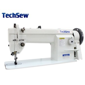 65949: Techsew 1460 Walking Foot Needle Feed Sewing Machine, Power Stand, Lamp