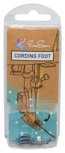 Eversewn 006813008 Sparrow Cording Foot, All Metal Low Shank Snap On