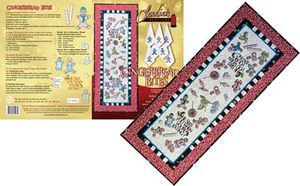 Claudia's Creations GB60998 Gingerbread Bites Embroidery Design Pack CD
