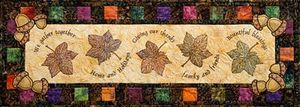Claudia's Creations FA00202 Fall into Autumn Leaves Embroidery Designs Pack CD