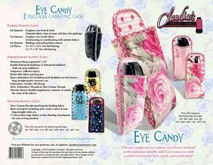 66314: Claudia's Creations EC60992 Eye Candy Embroidery Design Pack CD