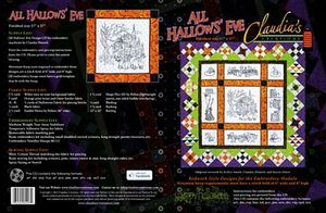 Claudia's Creations AH60997 All Hallows Eve Halloween Embroidery Designs Pack on CD