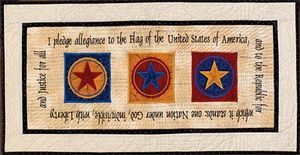 Claudia's Creations PA60983 I Pledge Allegiance Embroidery Designs Pack CD