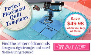 DIME, PPQ00B1, Perfect, Placement, Quilt, Templates, Bundle