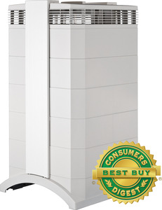 IQ Air HealthPro HEPA Air Purifier Cleaner SWISS Made, Pre & H13 Filters, 6 Speeds, 260 CFM, 11000 Square Feet +10Yr Extended Parts & Labor Warranty