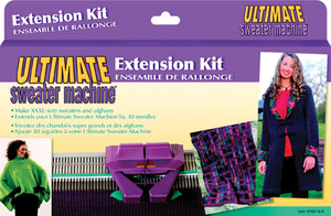 "Bond 30 Needle Extension Kit: Ultimate Sweater Knitting Machines to 40"" Wide (Grey Color, Not Blue for Incredible),-KNIT MACHING EXT KIT"
