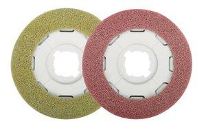 Sebo Kit 3286ER40 2 DISCO Pads, Red-poor surface prep;yellow-restore gloss fnish