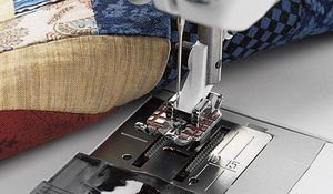 """Viking Quilter's 1/4"""" Piecing Foot (for 1,2,3,4,5,6,7) #412 78 55 45"""